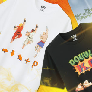 OMG! Street Fighter And Monster Hunter Graphic Tees Are Invading UNIQLO!