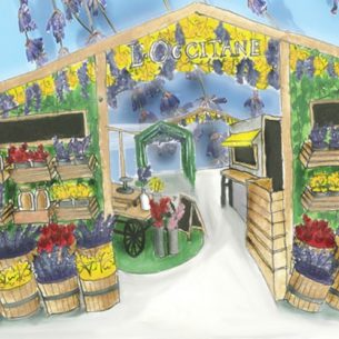 L'OCCITANE's First-Ever Beauty Market Offers A Multi-Sensorial Experience