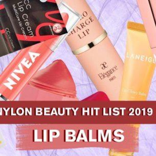 NYLON Singapore Beauty Hit List 2019: Lip Balms