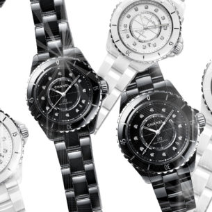 Chanel Welcomes A New Version Of The Iconic J12 Watch